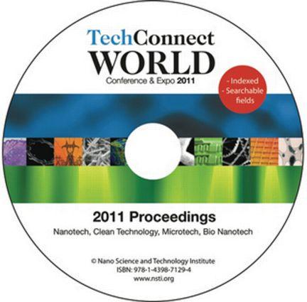 TechConnect World 2011 Proceedings: Nanotech, Clean Technology, Microtech, Bio Nanotech Proceedings DVD, 1st Edition (DVD) book cover