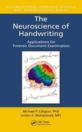 The Neuroscience of Handwriting: Applications for Forensic Document Examination, 1st Edition (Hardback) book cover