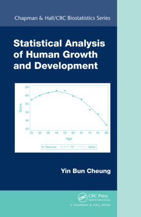 Statistical Analysis of Human Growth and Development (Hardback) book cover