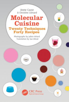 Molecular Cuisine: Twenty Techniques, Forty Recipes, 1st Edition (Hardback) book cover