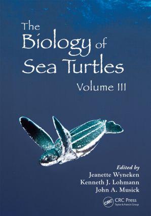The Biology of Sea Turtles, Volume III (Hardback) book cover