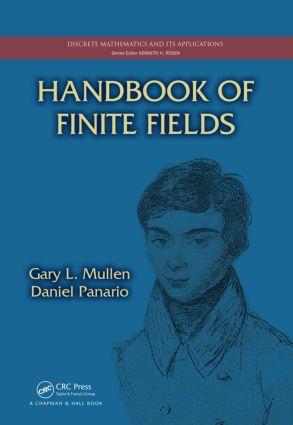 Handbook of Finite Fields (Hardback) book cover