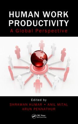 Human Work Productivity: A Global Perspective, 1st Edition (Paperback) book cover