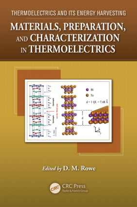Materials, Preparation, and Characterization in Thermoelectrics: 1st Edition (Hardback) book cover