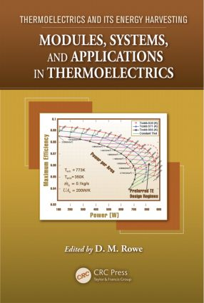 Modules, Systems, and Applications in Thermoelectrics: 1st Edition (Hardback) book cover