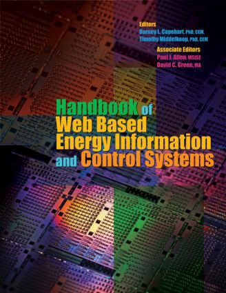 Handbook of Web Based Energy Information and Control Systems (Hardback) book cover