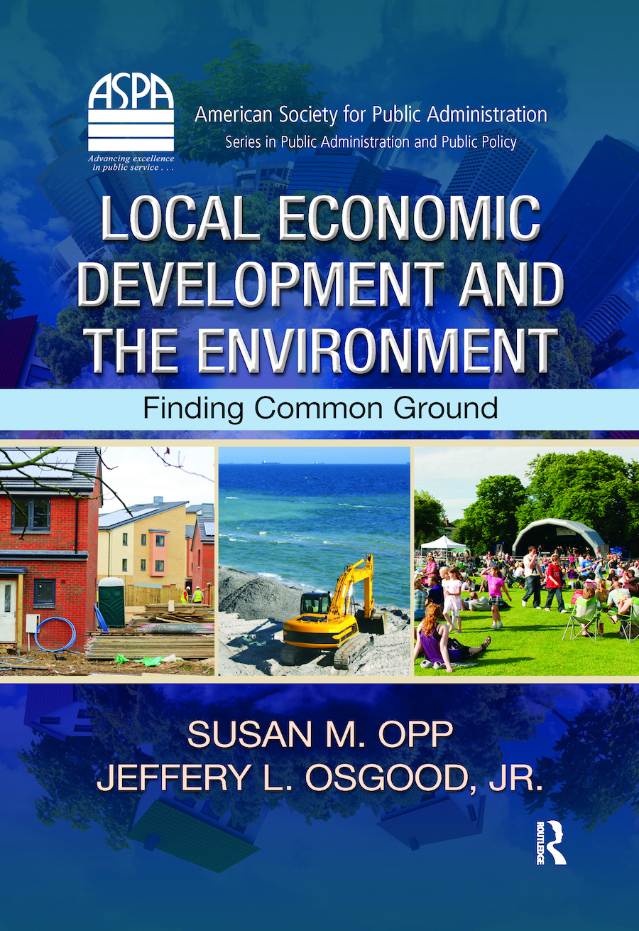 Local Economic Development and the Environment: Finding Common Ground (e-Book) book cover