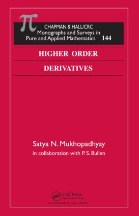Higher Order Derivatives book cover