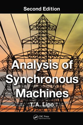 Analysis of Synchronous Machines, Second Edition: 2nd Edition (Hardback) book cover