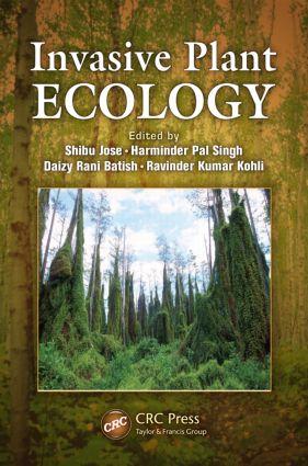 Invasive Plant Ecology (Hardback) book cover