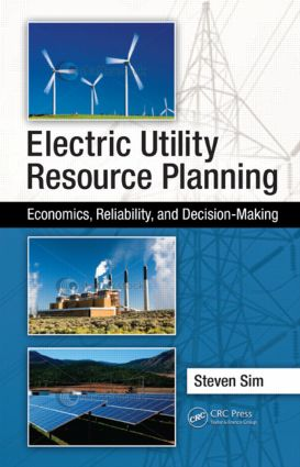 Electric Utility Resource Planning: Economics, Reliability, and Decision-Making, 1st Edition (Hardback) book cover