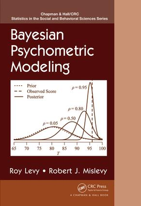 Bayesian Psychometric Modeling: 1st Edition (Hardback) book cover