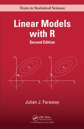 Linear Models with R: 2nd Edition (Hardback) book cover