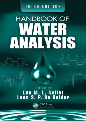 Handbook of Water Analysis, Third Edition: 3rd Edition (Hardback) book cover