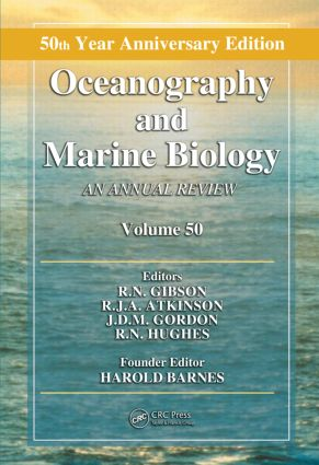 Oceanography and Marine Biology: An Annual Review, Volume 50 book cover