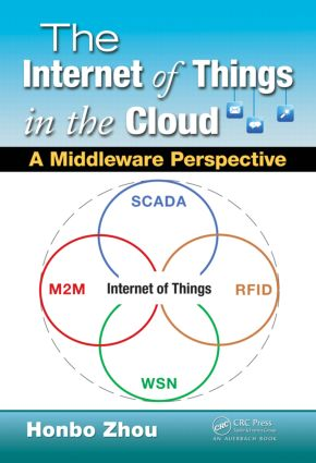The Internet of Things in the Cloud: A Middleware Perspective (Hardback) book cover