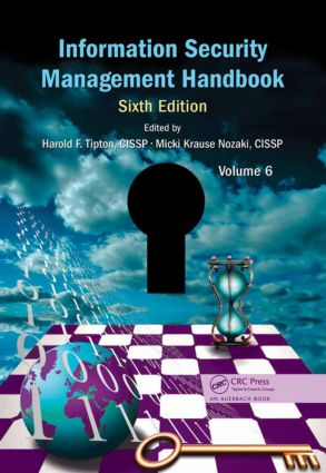 Information Security Management Handbook, Volume 6 book cover