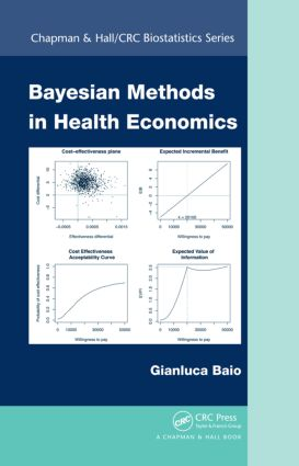 Bayesian Methods in Health Economics (Hardback) book cover