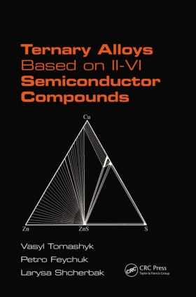 Ternary Alloys Based on II-VI Semiconductor Compounds: 1st Edition (Hardback) book cover