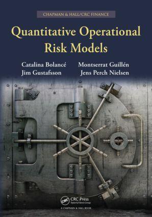 Quantitative Operational Risk Models: 1st Edition (Hardback) book cover