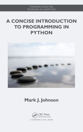 A Concise Introduction to Programming in Python book cover