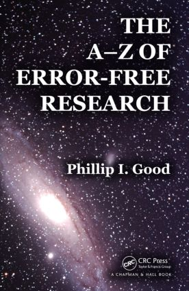 The A-Z of Error-Free Research: 1st Edition (Paperback) book cover