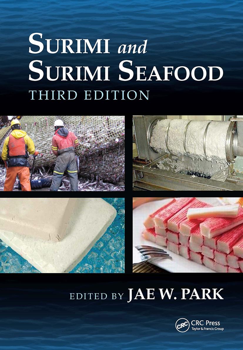 Surimi and Surimi Seafood, Third Edition: 3rd Edition (Hardback) book cover