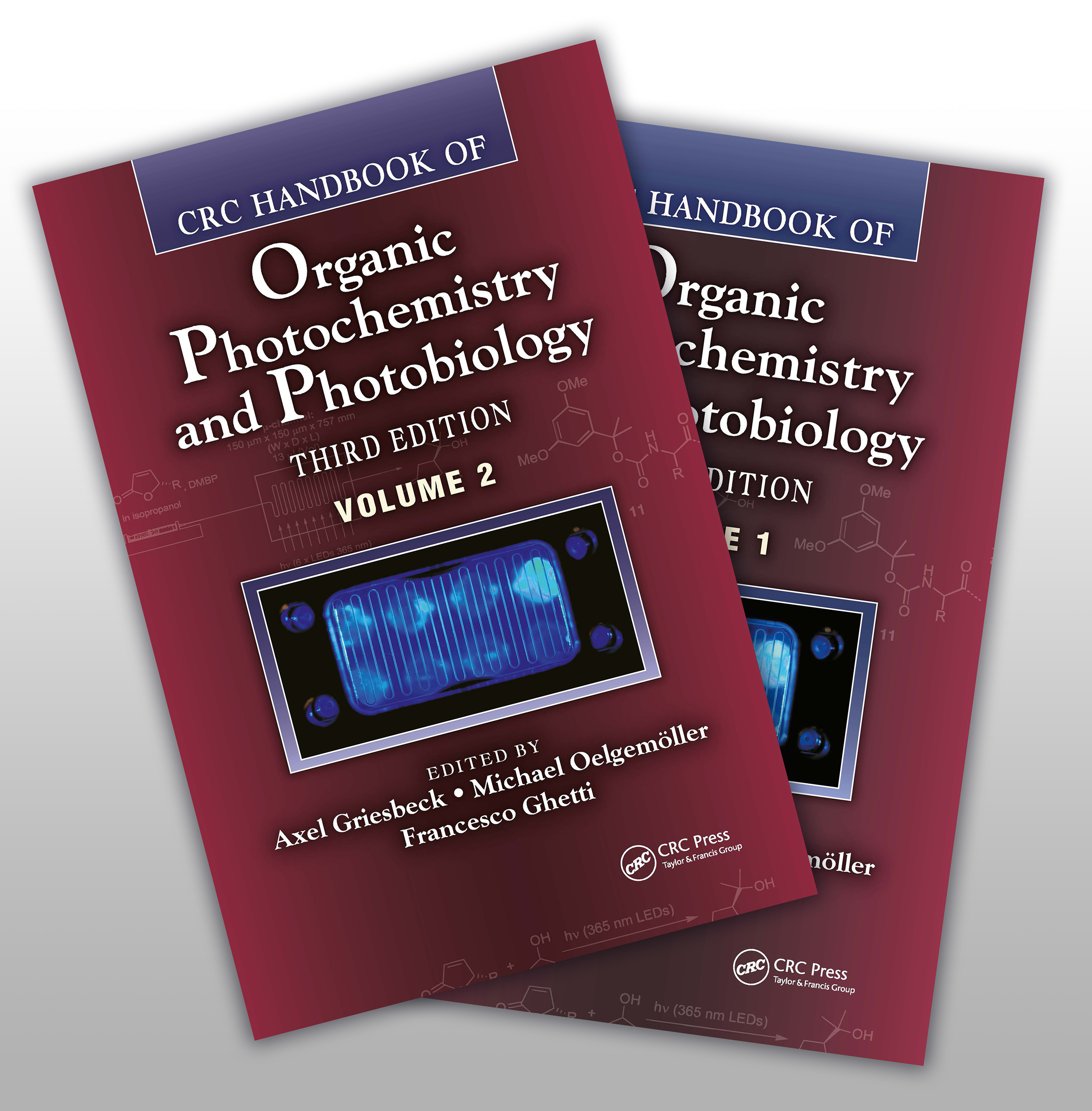 CRC Handbook of Organic Photochemistry and Photobiology, Third Edition - Two Volume Set: 3rd Edition (Hardback) book cover