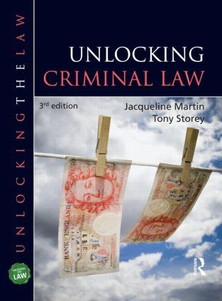 Unlocking Criminal Law