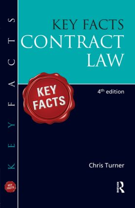 Key Facts Contract Law: 4th Edition (e-Book) book cover