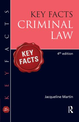 Key Facts Criminal Law