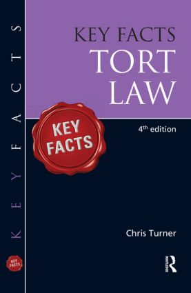 Key Facts Tort book cover