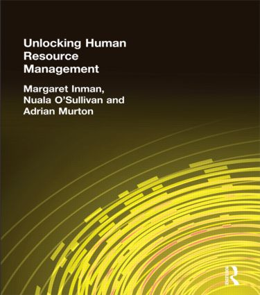 Unlocking Human Resource Management: 1st Edition (Paperback) book cover