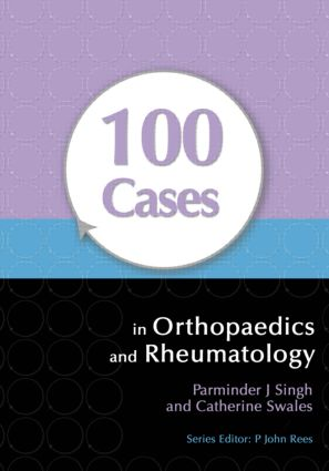 100 Cases in Orthopaedics and Rheumatology (Paperback) book cover