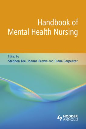 Handbook of Mental Health Nursing (Paperback) book cover
