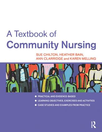 A Textbook of Community Nursing (Paperback) book cover