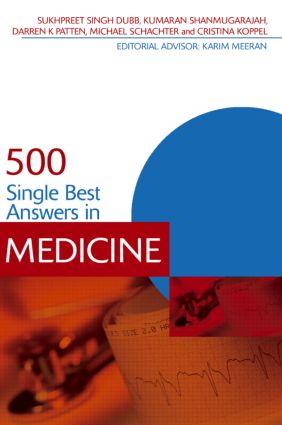 500 Single Best Answers in Medicine (e-Book) book cover