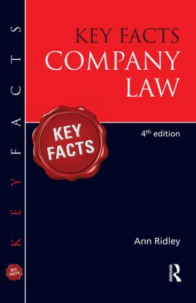 Key Facts Company Law book cover