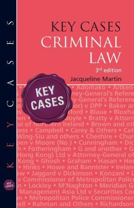 Key Cases: Criminal Law