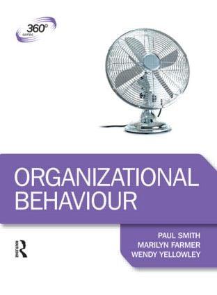 Organizational Behaviour book cover