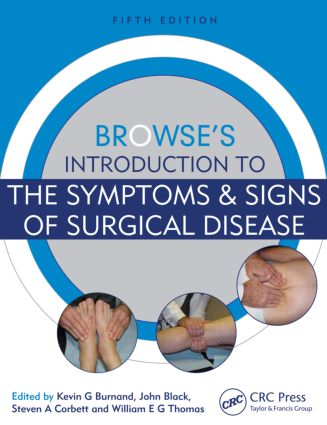 Browse's Introduction to the Symptoms & Signs of Surgical Disease, Fifth Edition: 5th Edition (Pack - Book and Ebook) book cover