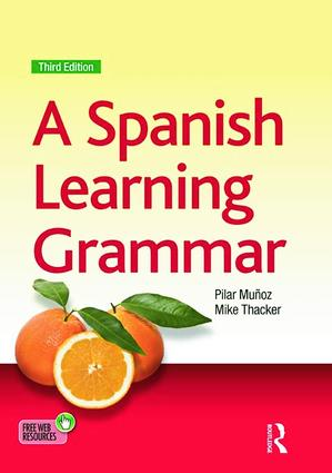 A Spanish Learning Grammar: 3rd Edition (Paperback) book cover