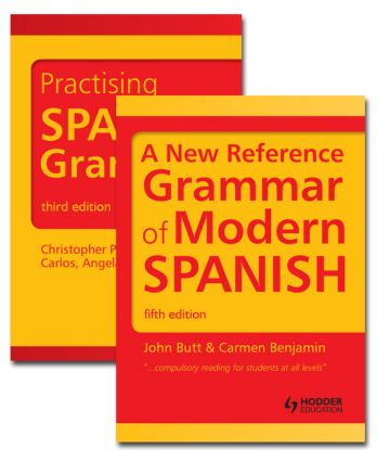 Spanish Grammar Pack: 1st Edition (Paperback) - Routledge