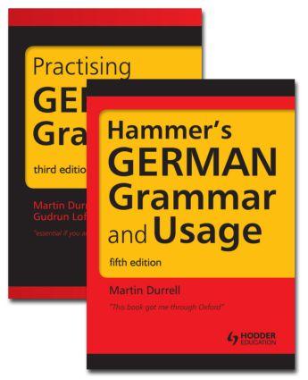 German Grammar Pack (Paperback) book cover