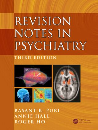 Revision Notes in Psychiatry, Third Edition: 3rd Edition (Paperback) book cover