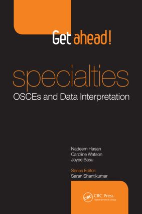 Get ahead! Specialties: OSCEs and Data Interpretation: 1st Edition (Paperback) book cover