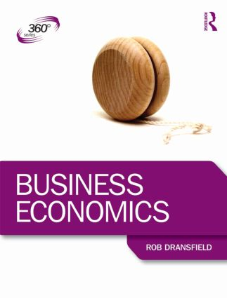 Business Economics: 1st Edition (Paperback) book cover