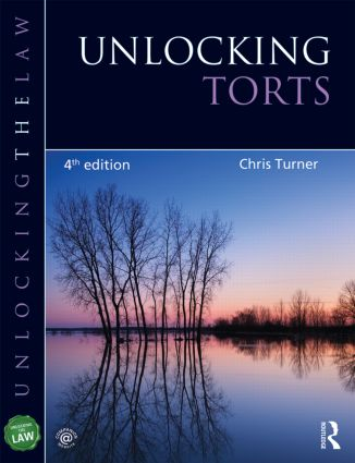 Unlocking Torts: 4th Edition (Paperback) book cover