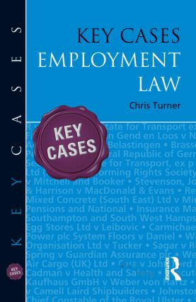 Key Cases: Employment Law (Paperback) book cover