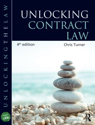 Unlocking Contract Law book cover